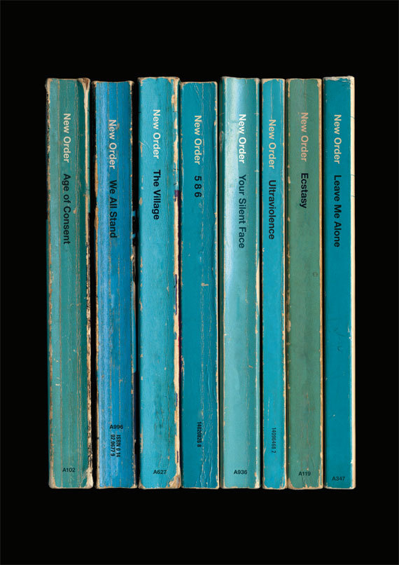 Classic albums as books by Standard Designs