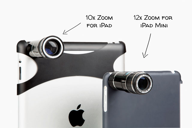 iPad Telephoto Lens by Photojojo