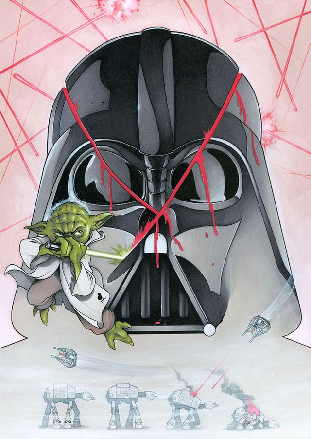 Yoda Slice by Chris Murray