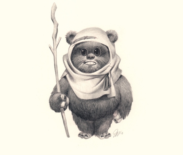 Ewok by Joy Ang