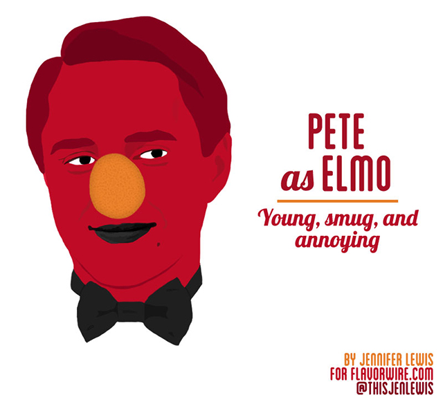 Pete Elmo by Jennifer Lewis