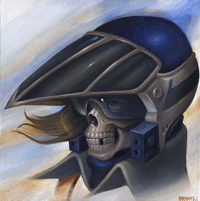 Skull Leader by Steven J Daily