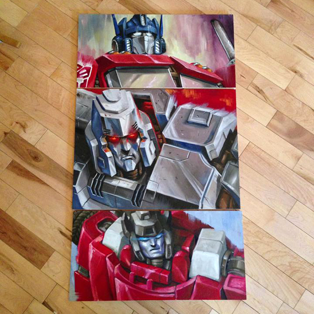 Transformers by Jonathan Bergeron