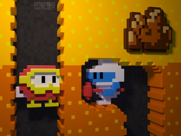 Inside Dig Dug by Metin Seven