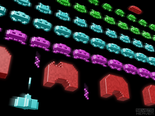 Inside Space Invaders by Metin Seven