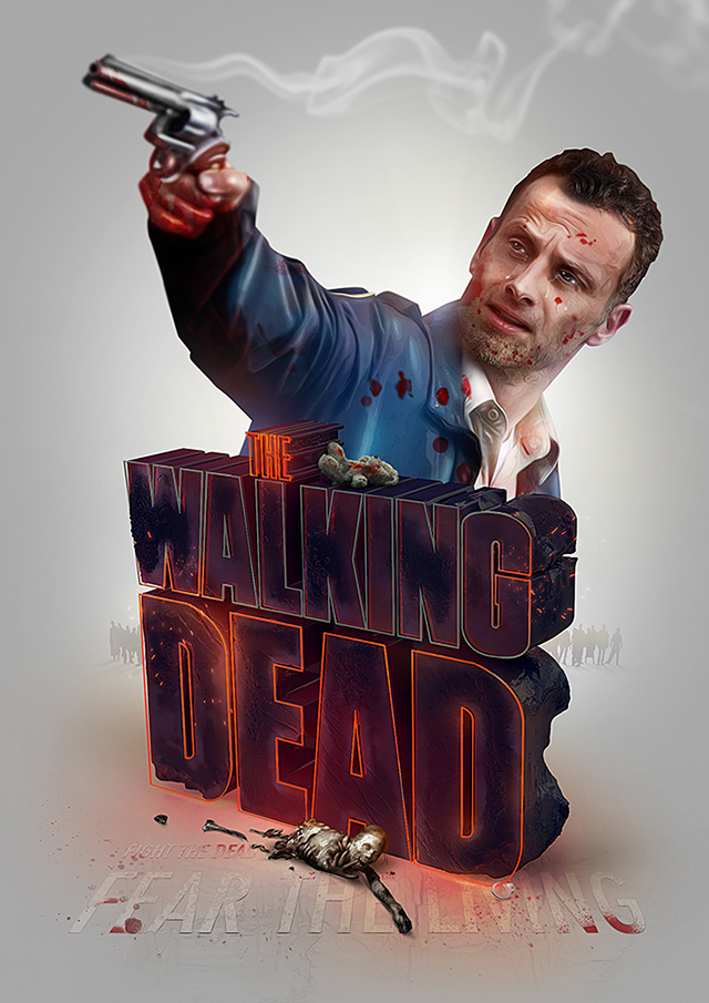 The Walking Dead by Adam Spizak