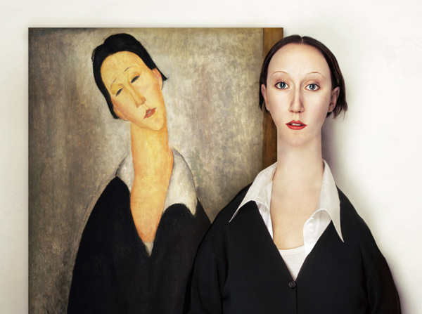 The Real Life Models by Flora Borsi