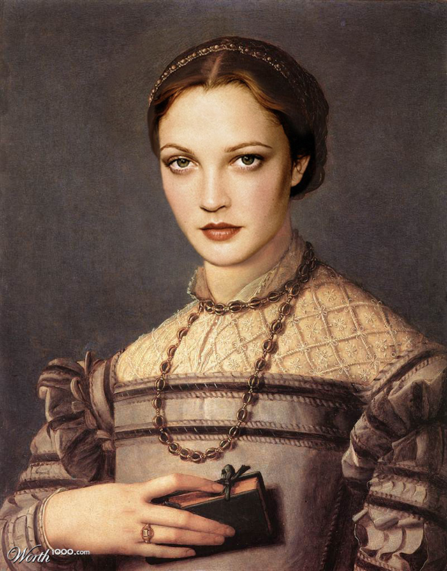 Drew Barrymore by Shorra
