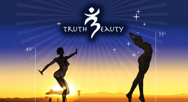 Truth is Beauty statue by Marco Cochrane
