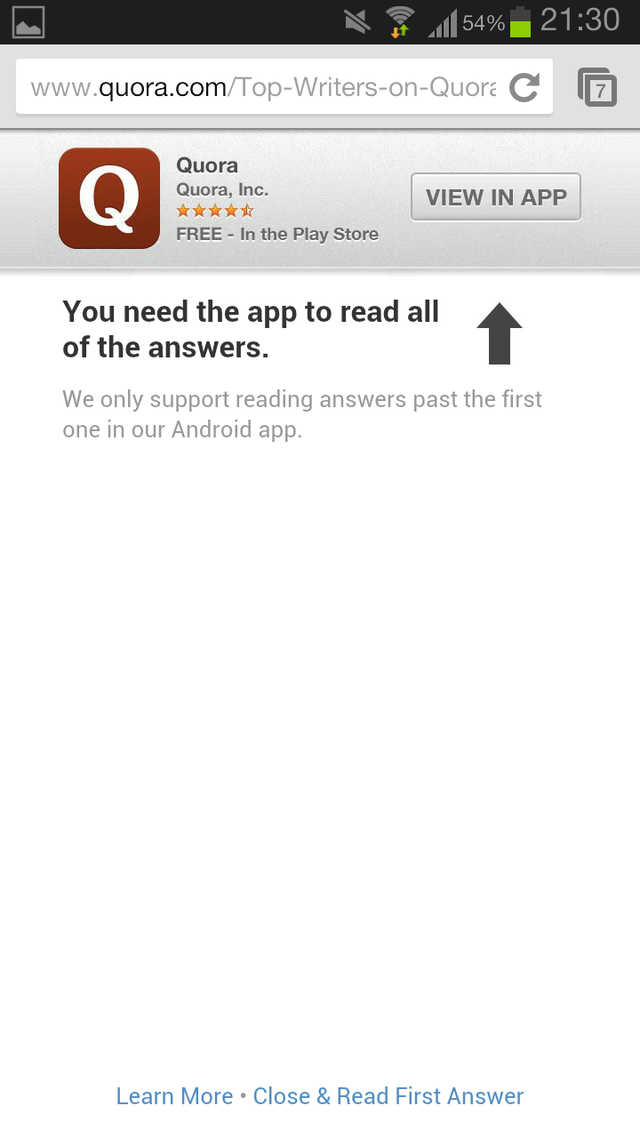 I Don't Want Your Fucking App