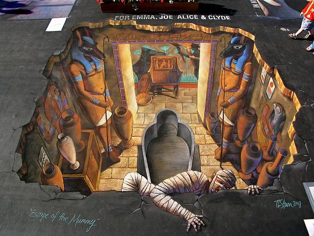 Escape of the Mummy