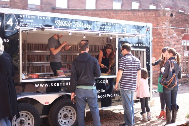 The Sketchbook Project Mobile Library