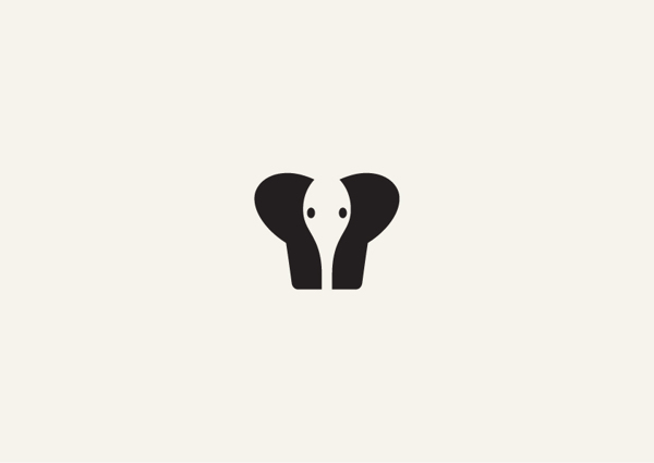 Negative space animal illustrations by george bokhua