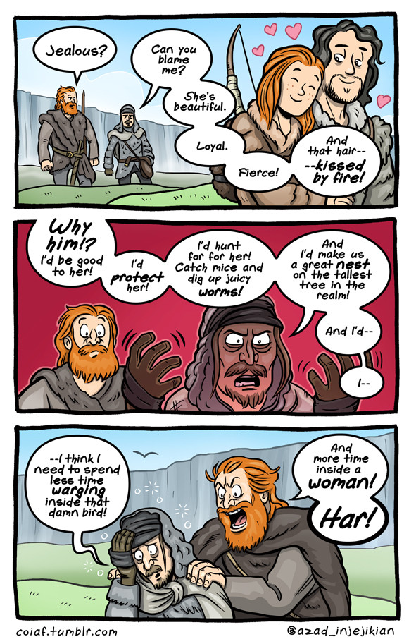 Witty Comics Based On Characters  Scenes From Game Of -7982