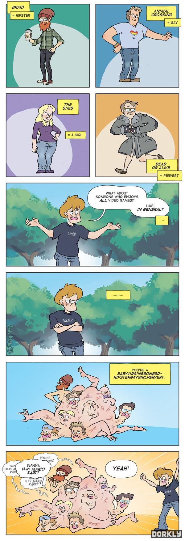 Gamer Stereotypes