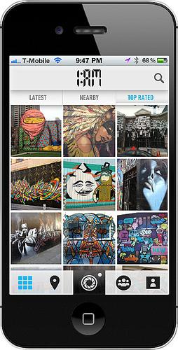 1AM Street Art App
