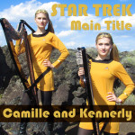 Harp Twins Play Star Trek Themes