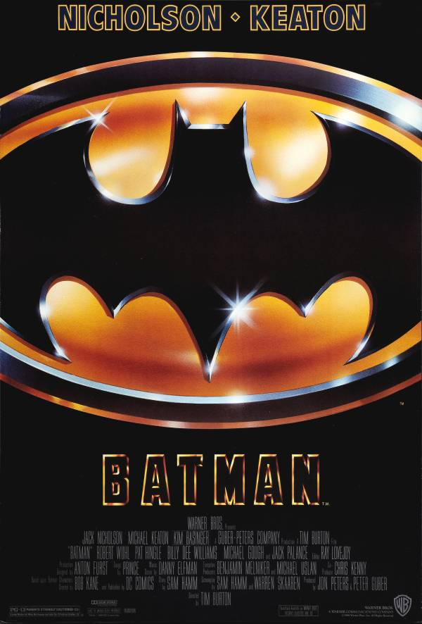 Batman 1989 Official Poster