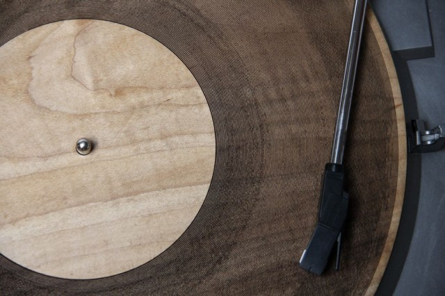 laser cut record