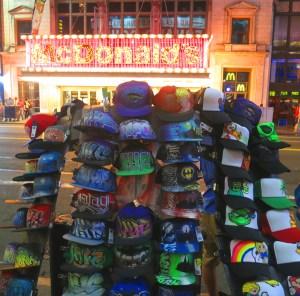 Graffiti Hat Stand