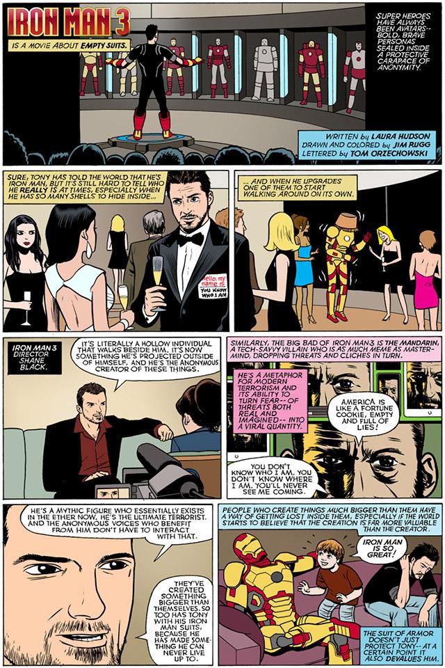 Iron Man 3 Movie Review Comic