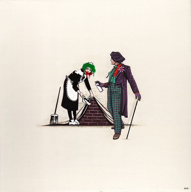 Joker vs Banksy
