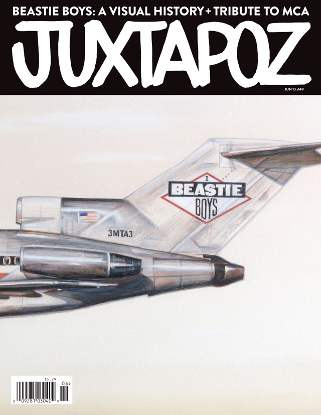 Juxtapoz June Beastie Boys Issue