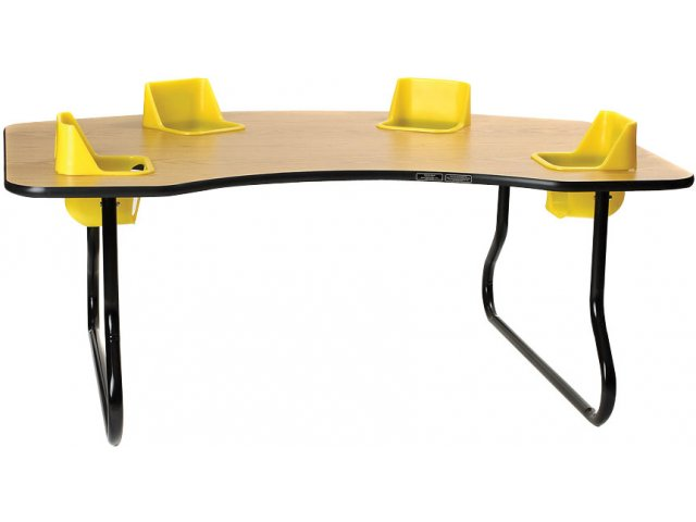 4 Seat Toddler Table