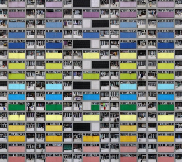 Architecture of Density, Photos Highlight Patterns & Textures of Hong Kong Apartment Towers