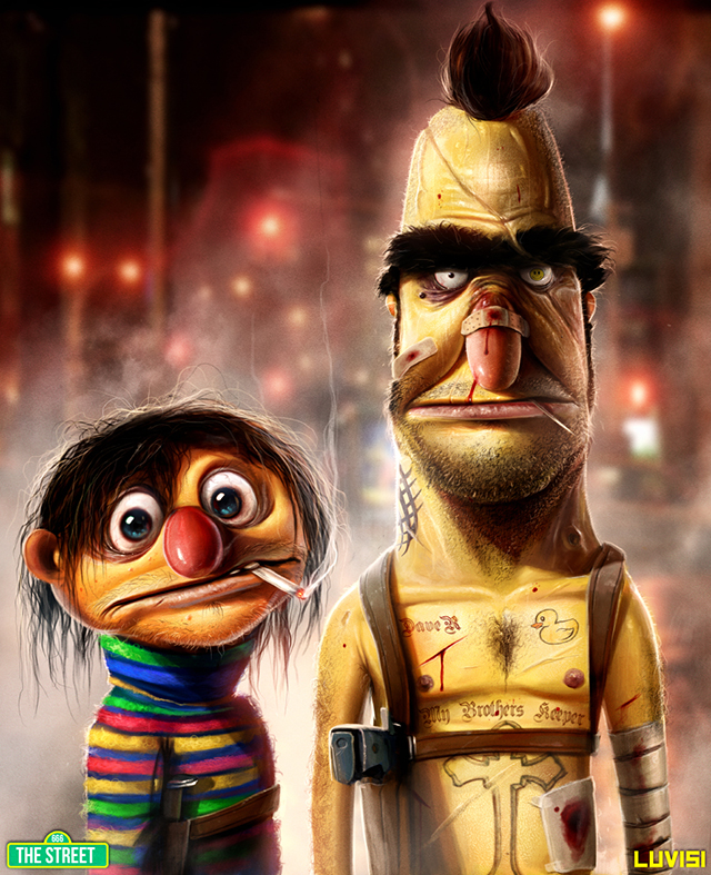 Bert and Ernie My Brothers Keeper by Dan LuVisi