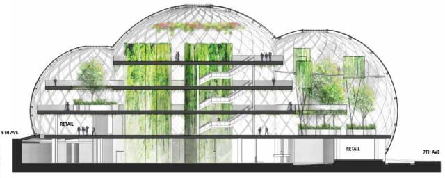 Amazon sphere building