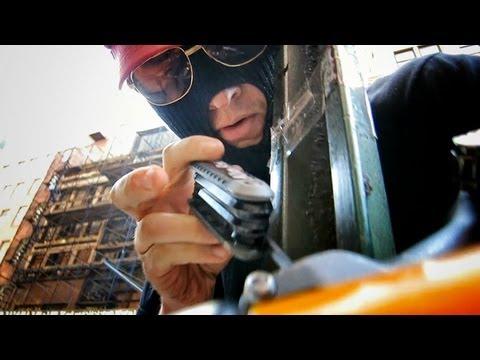 Casey Neistat Installs His Own Bike Rack on a New York City Sidewalk