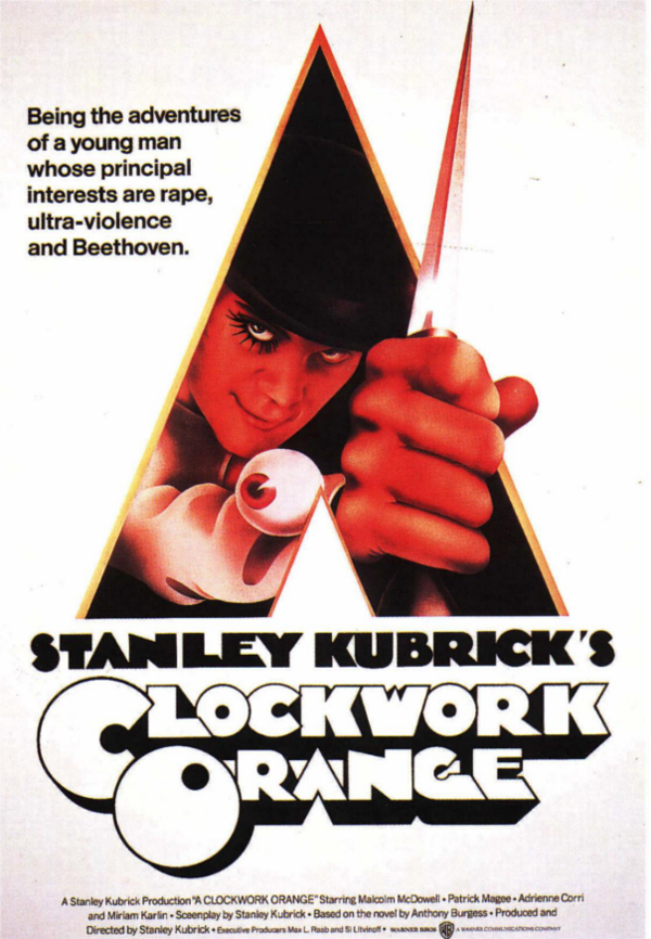 A Clockwork Orange Official Poster