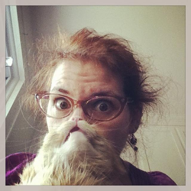 Cat Beard by Jen Hardiman