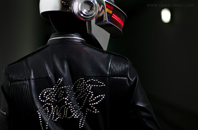 Daft Punk photo by Dan Almasy