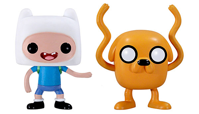 Stylized Series of Vinyl 'Adventure Time' Figures