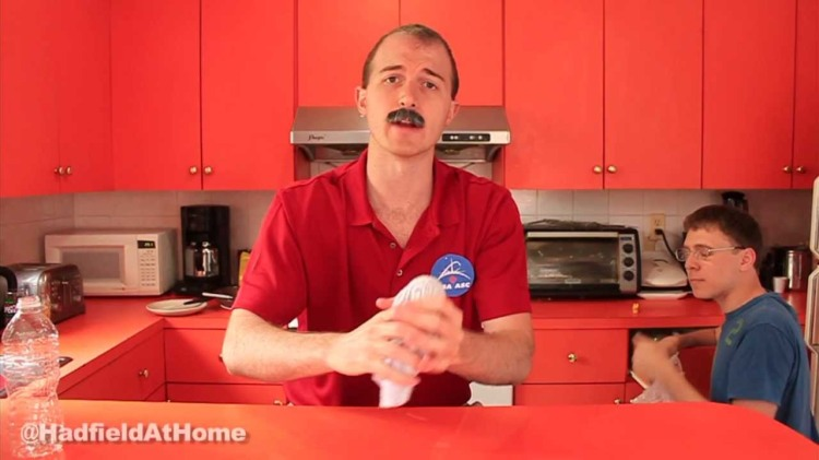 Hadfield At Home, A Parody Series Based on Astronaut Chris Hadfield's Experiments in Space