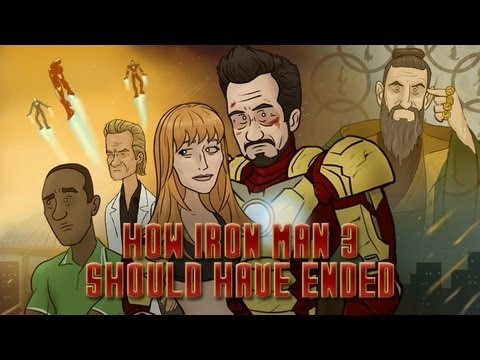 How 'Iron Man 3' Should Have Ended