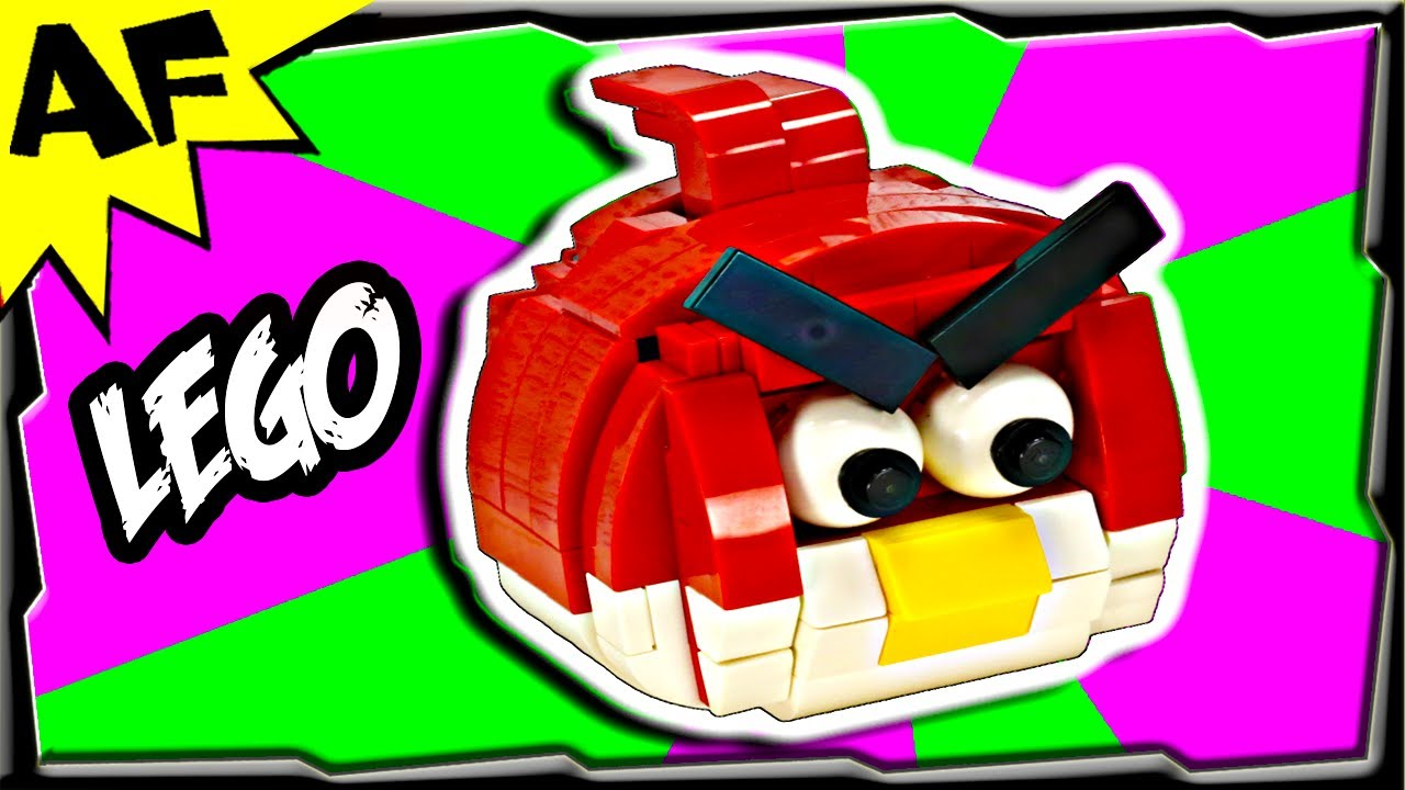 How To Build Angry Birds Characters Using Lego Bricks
