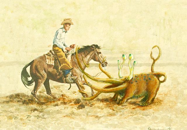 Ropin Cowboys by Thyrza Segal