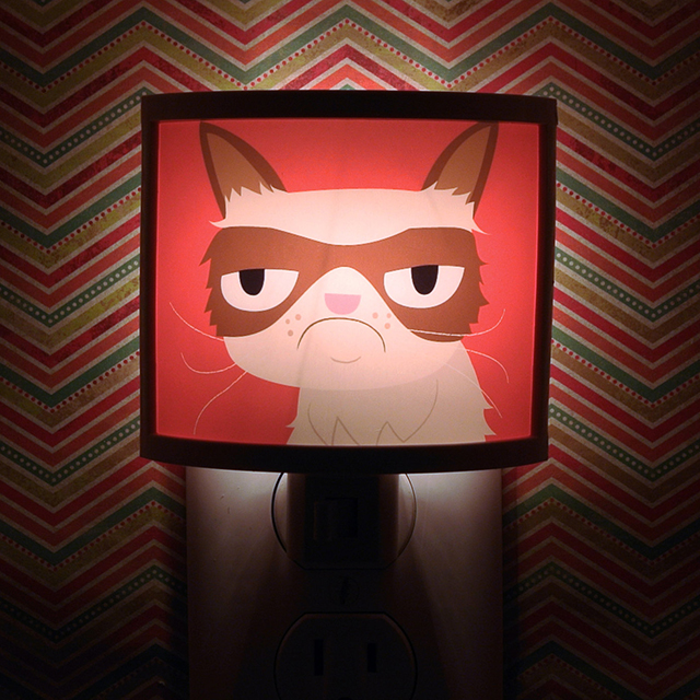 Grump Cat Night Light