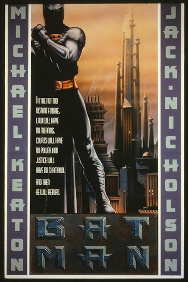 Batman 1989 Alternate Poster