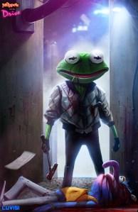 Kermit - Drive by Dan LuVisi