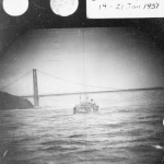 San Francisco in 1951 As Seen Through the Periscope of a U.S. Navy Submarine