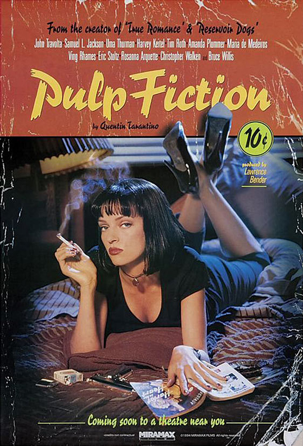 Pulp Fiction Official Poster