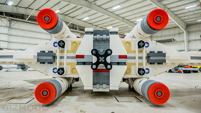 Full Scale Lego X-Wing