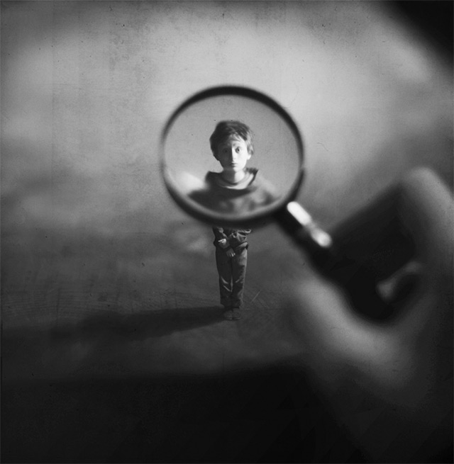 Miniature photos by Zev