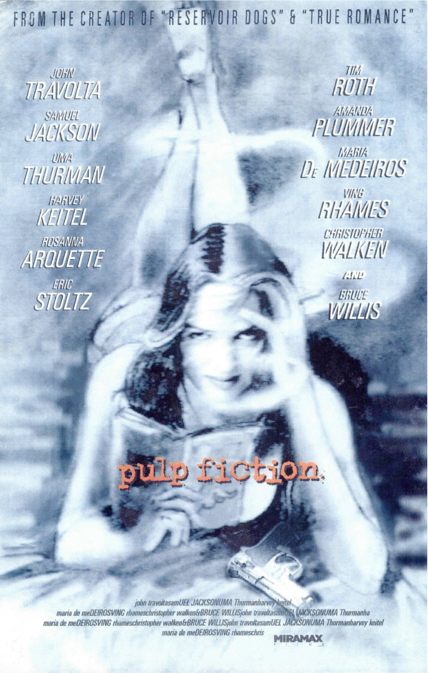 Pulp Fiction Alternative Poster 1