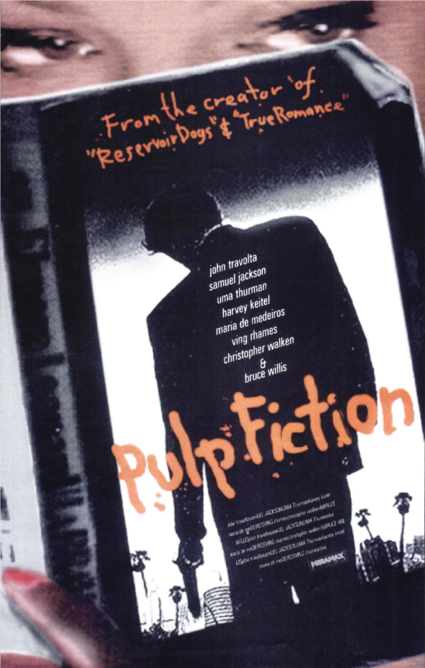 Pulp Fiction Alternative Poster 2