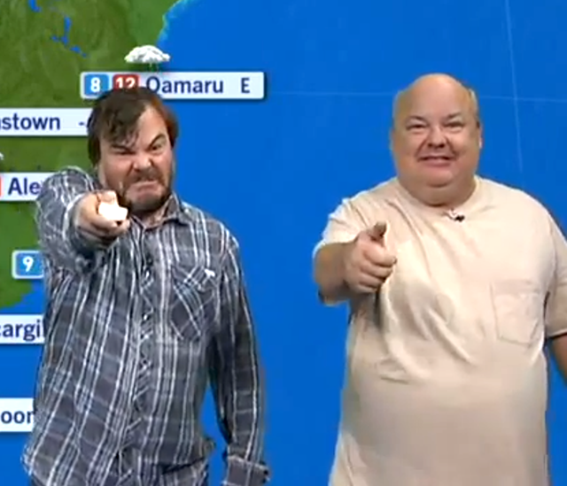 TENACIOUS D WEATHER REPORT